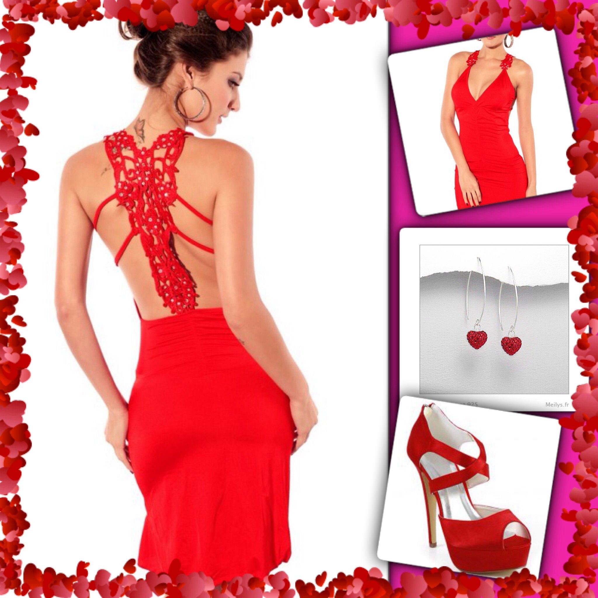 tenue glamour et sexy pour la st valentin cbella mon blog. Black Bedroom Furniture Sets. Home Design Ideas